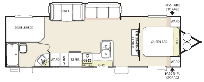 Ultimate model 262 adventure in camping for Ultimate floor plans